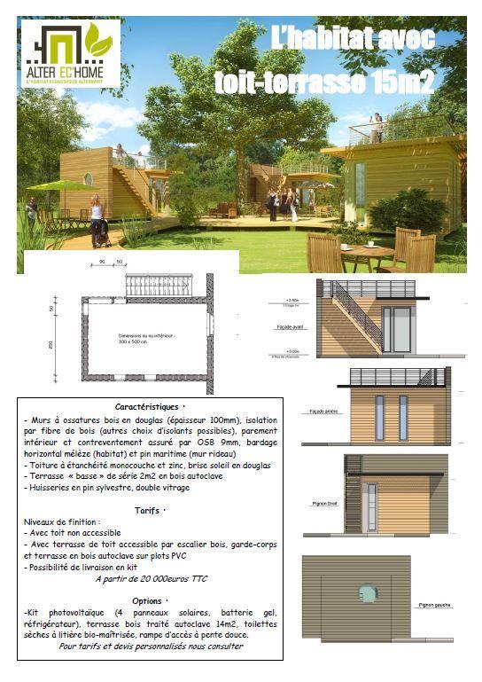 Capture Hab Toit Terrasse Constructeur Maison Modulaire
