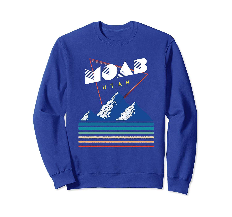 Moab, Utah - USA Ski Resort 1980s Retro  Sweatshirt #utahusa