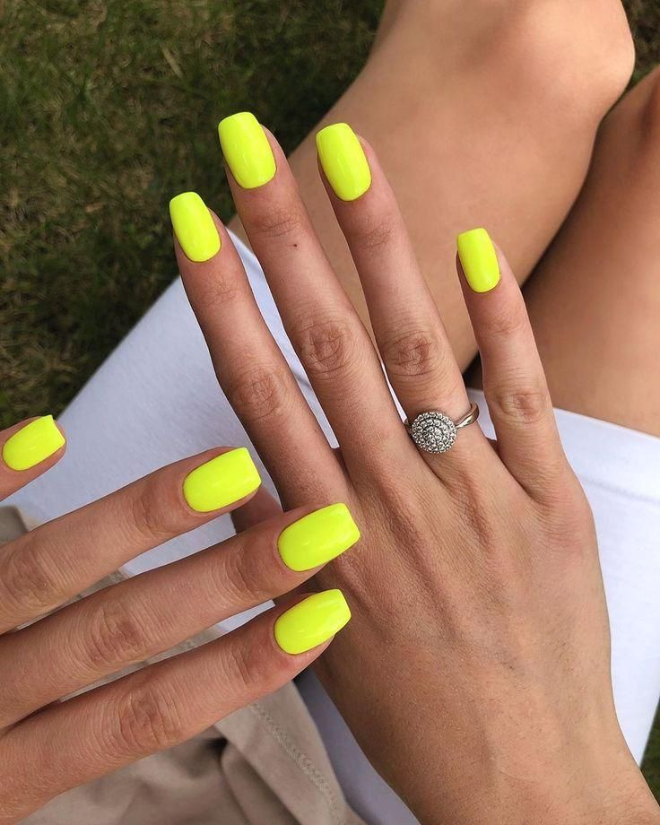 Local tip Neon nails are brightening up cloudy summer days in the UK