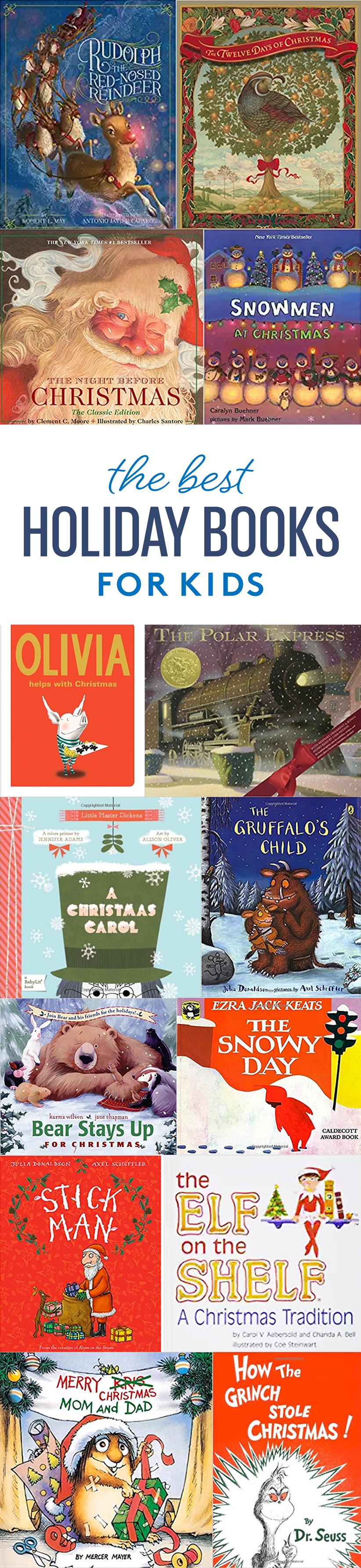 20 Timeless Christmas Books for Kids Christmas books for
