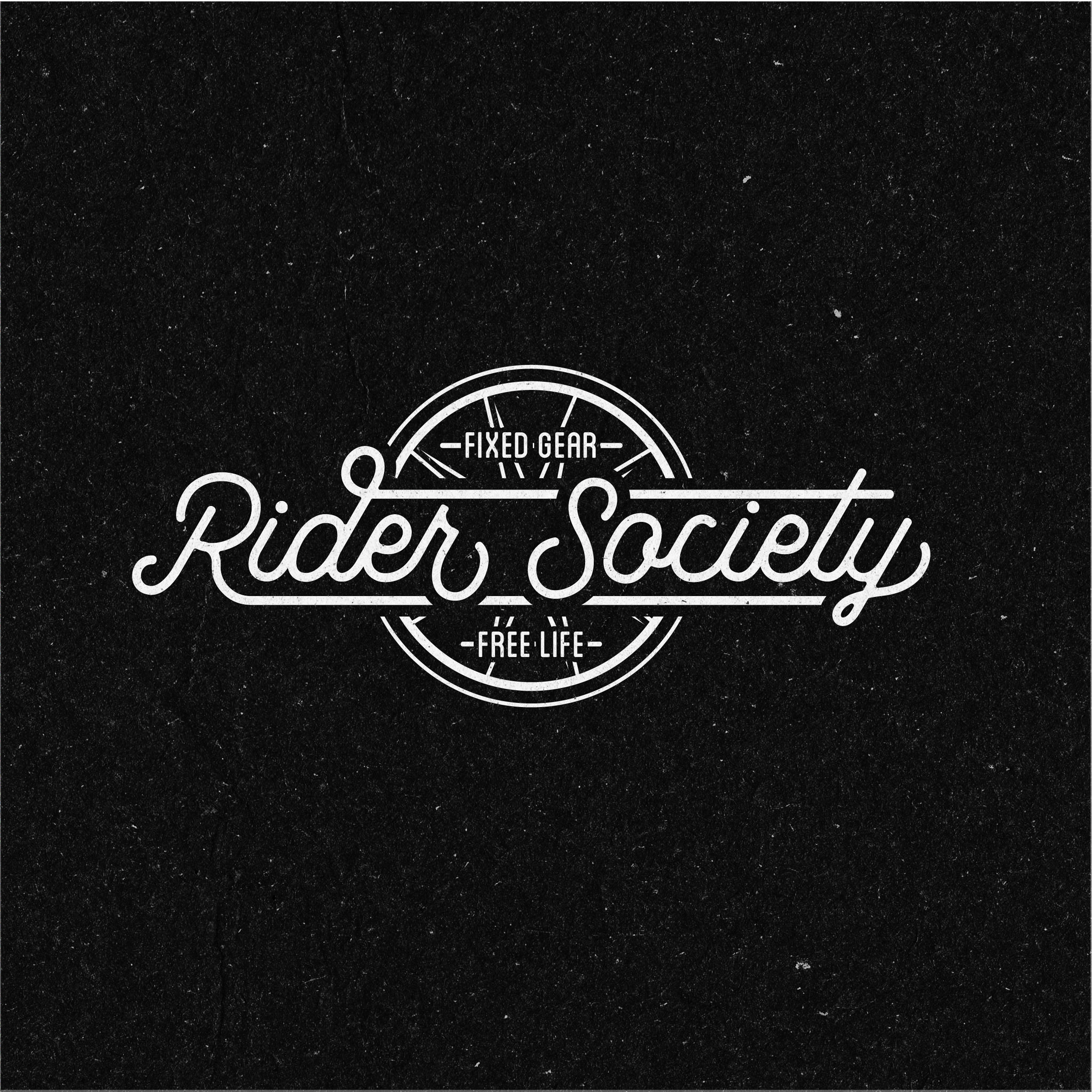 Fixie Fixed Gear Cycling Logo Concept