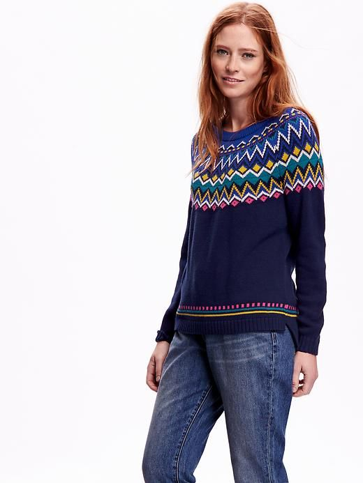 Fair Isle Sweater- I really want this sweater. My size is medium ...
