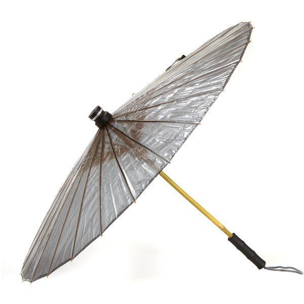 BRELLI Black Swarovski Umbrella $105
