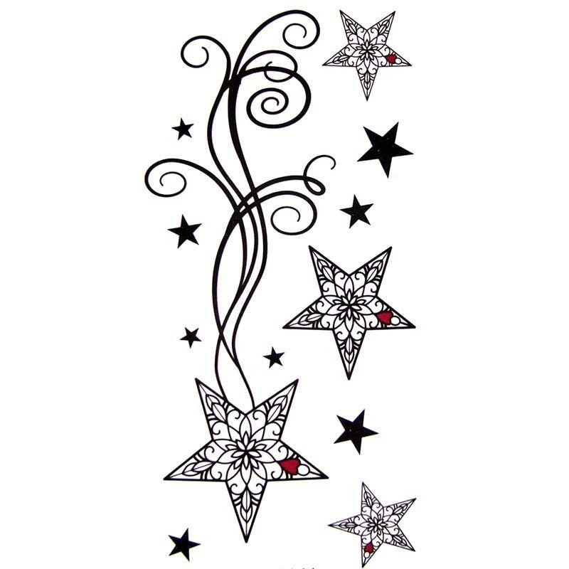 image result for etoiles filantes tribal | tattoos | tattoos, tattoo