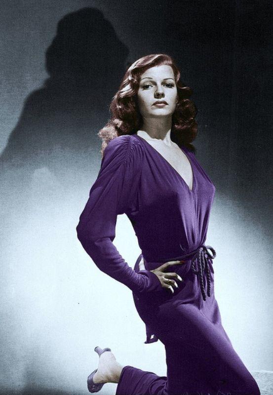Rita Hayworth - This photo was uploaded by JLA_Super7.
