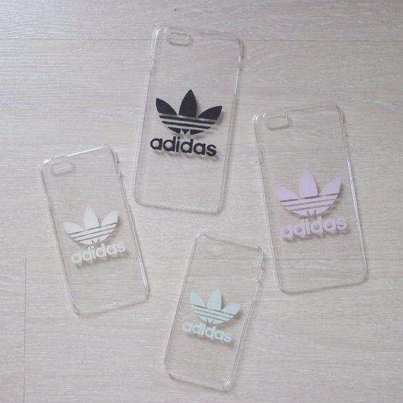 Transparente Harte Hulle Handyhulle Mit Adidas Logo Von Zocanbyzoe Adidas Phone Case Iphone Phone Cases Diy Phone Case
