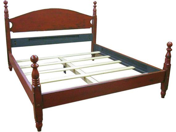 Queen Federal Cannonball Bed Urban Loft or by ShakaStudios, $2681.00 ...
