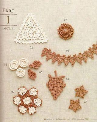 Ivelise Feito à Mão: Apliques Super Delicados em Crochê!