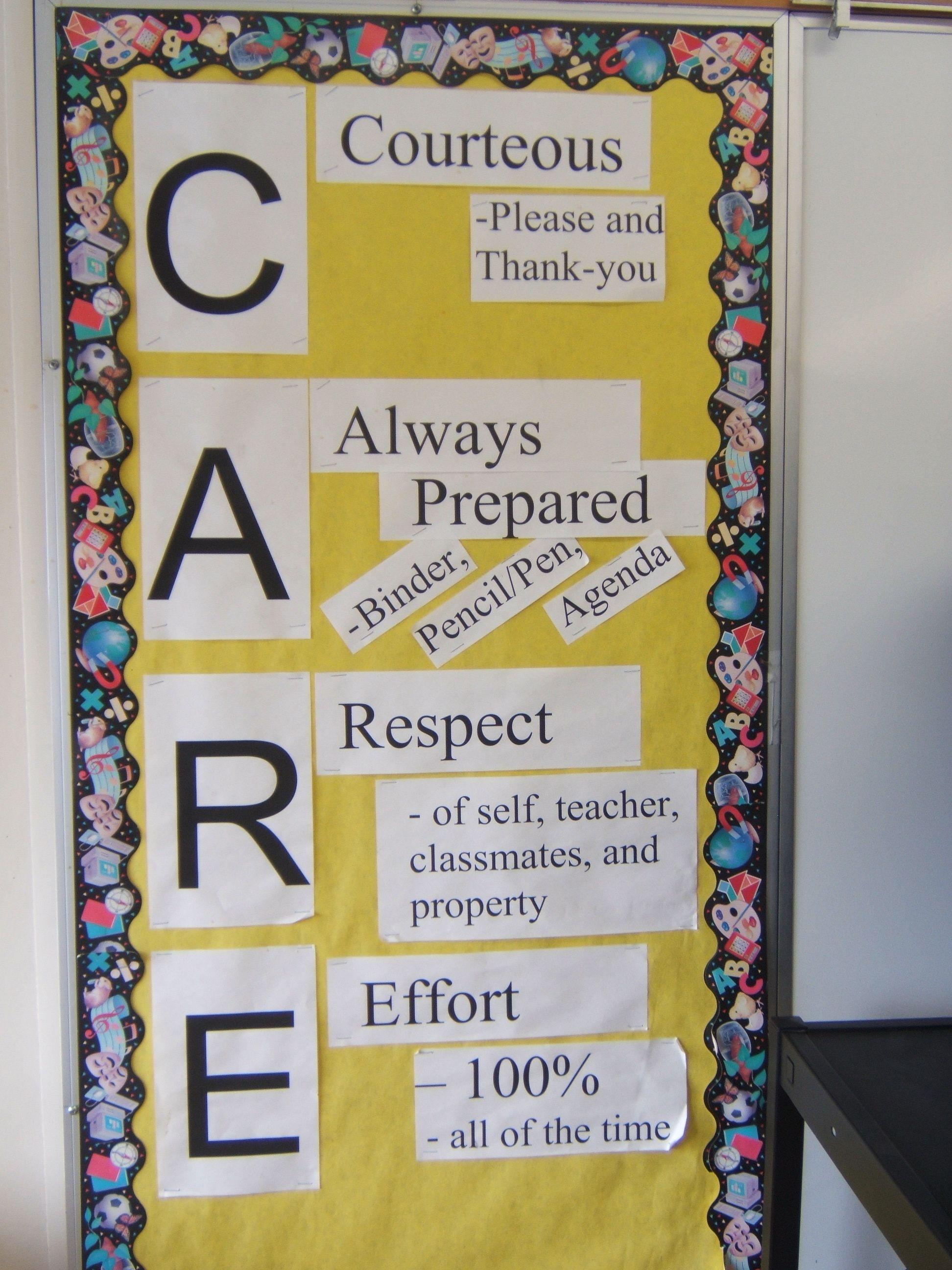 Classroom Ideas Grade 1 : Classroom rules idea