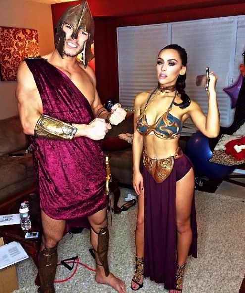 cute couples halloween idea but definately more covered up for the girl lol