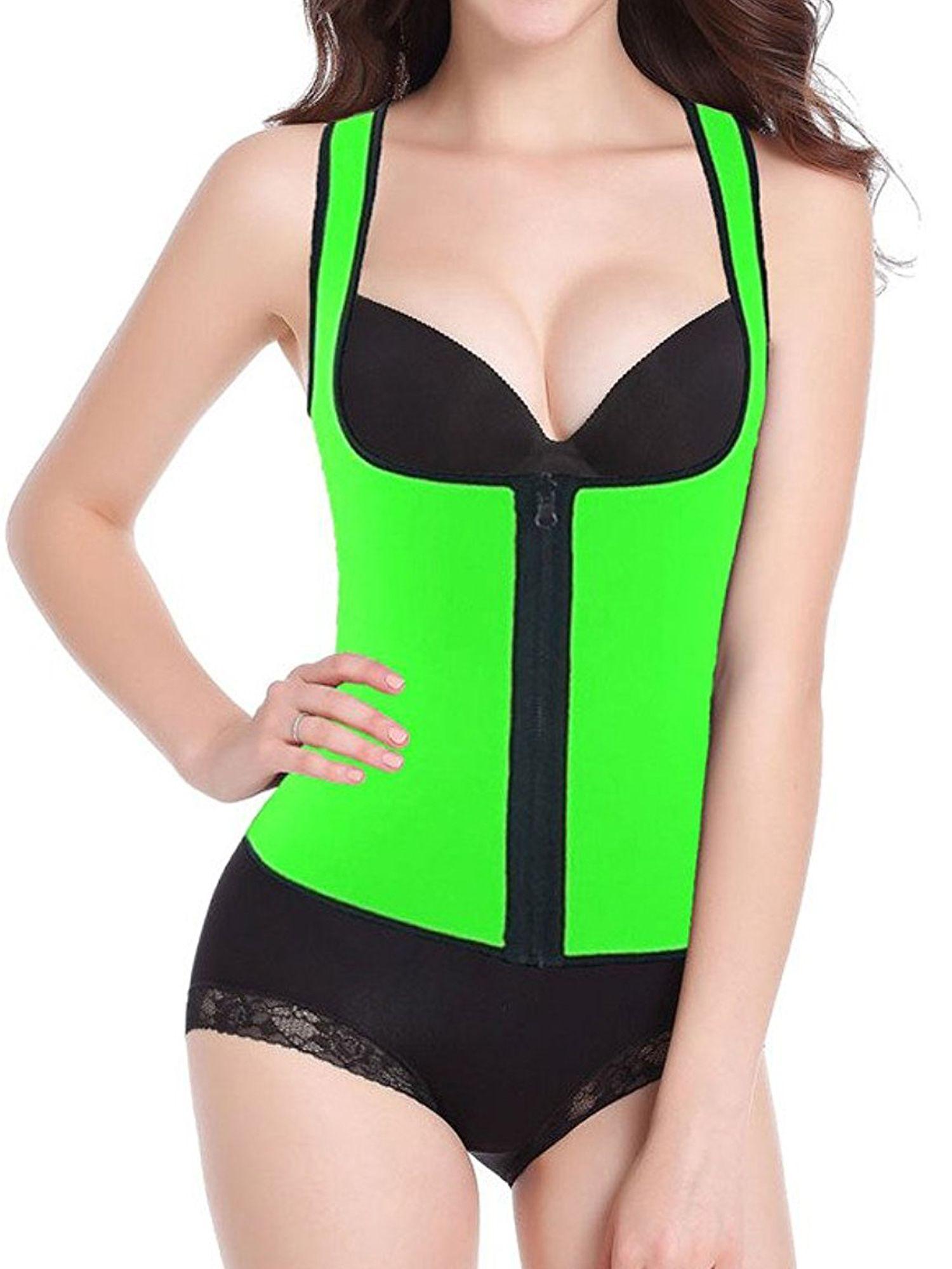 601f06ead7b32 SAYFUT Women s Shapewear Slimming Vest Waist Trainer Body Shaper Corset Hot  Sweat Neoprene Weight Loss Tank