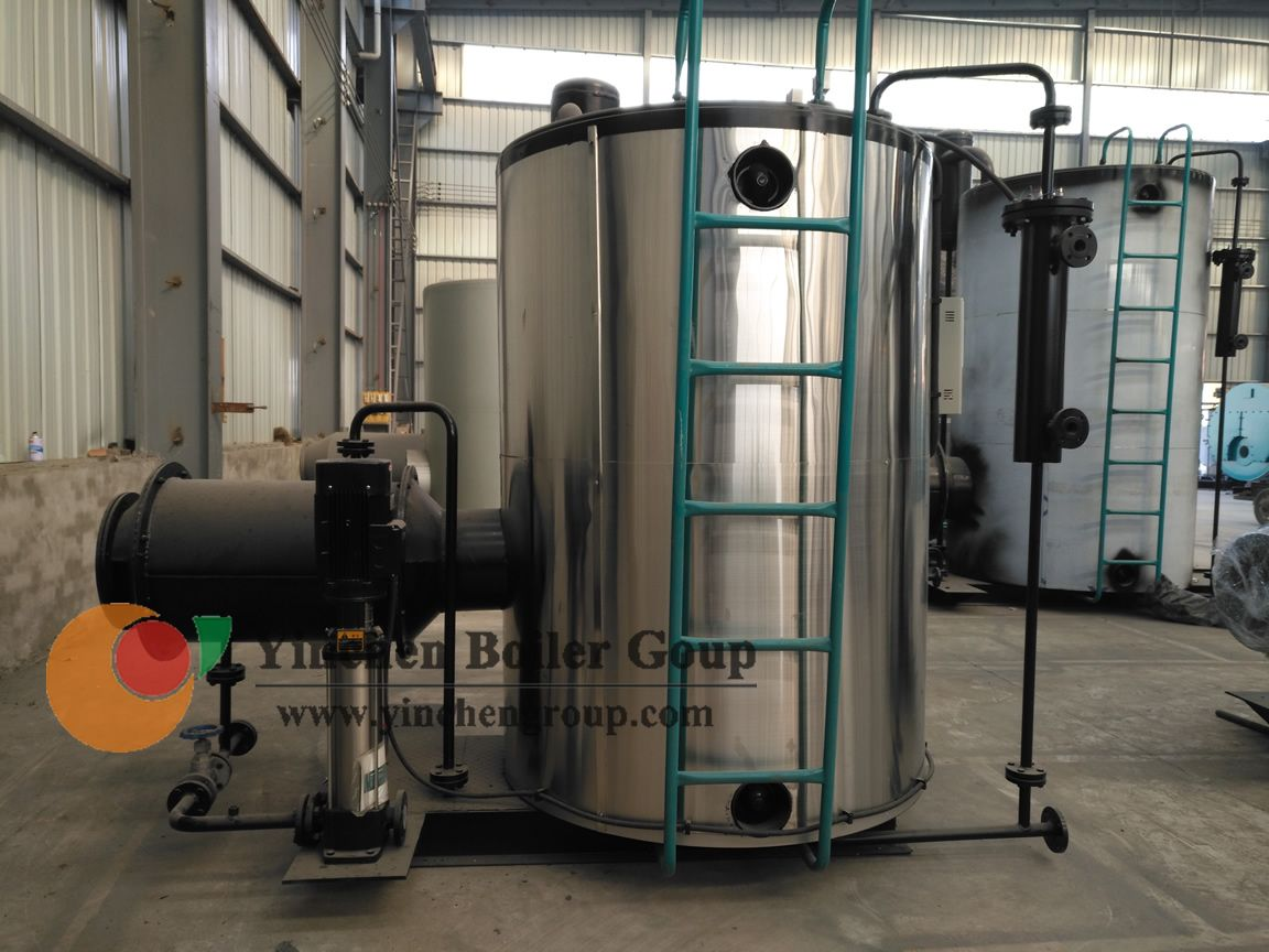 Automatic gas fired high efficiency once-through steam boiler is a ...