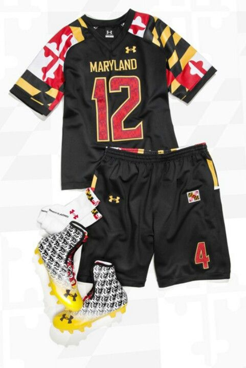 Maryland lacrosse uniforms love every thing about the uniform ... 9c9f17d7f