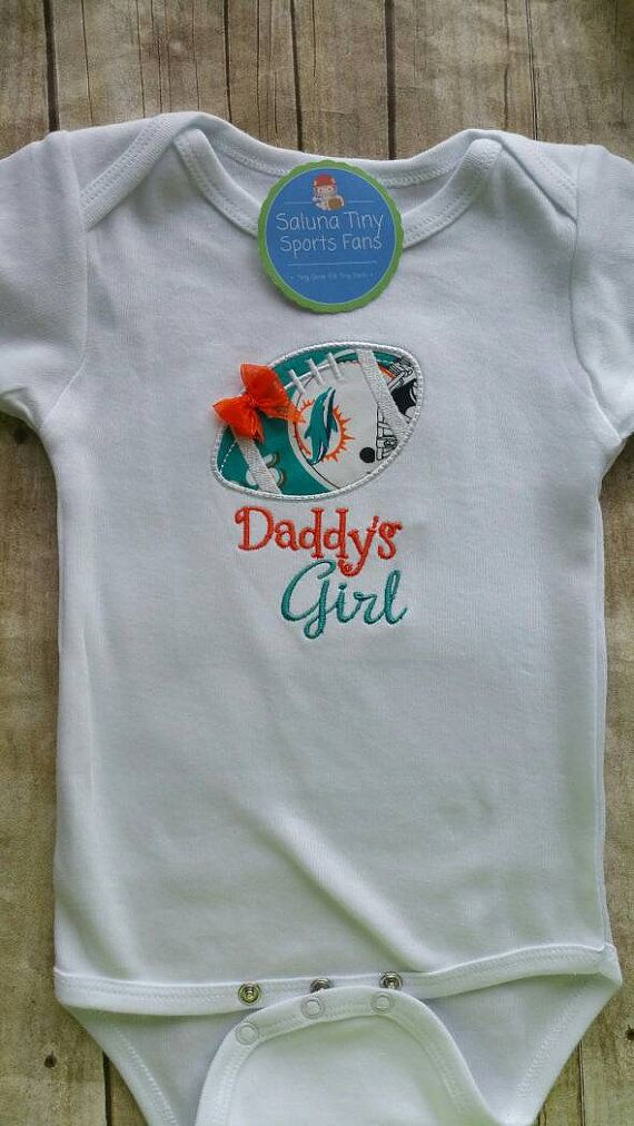 info for 0db4d 108b2 Miami Dolphins Daddy's Girl Shirt or bodysuit | I want ...