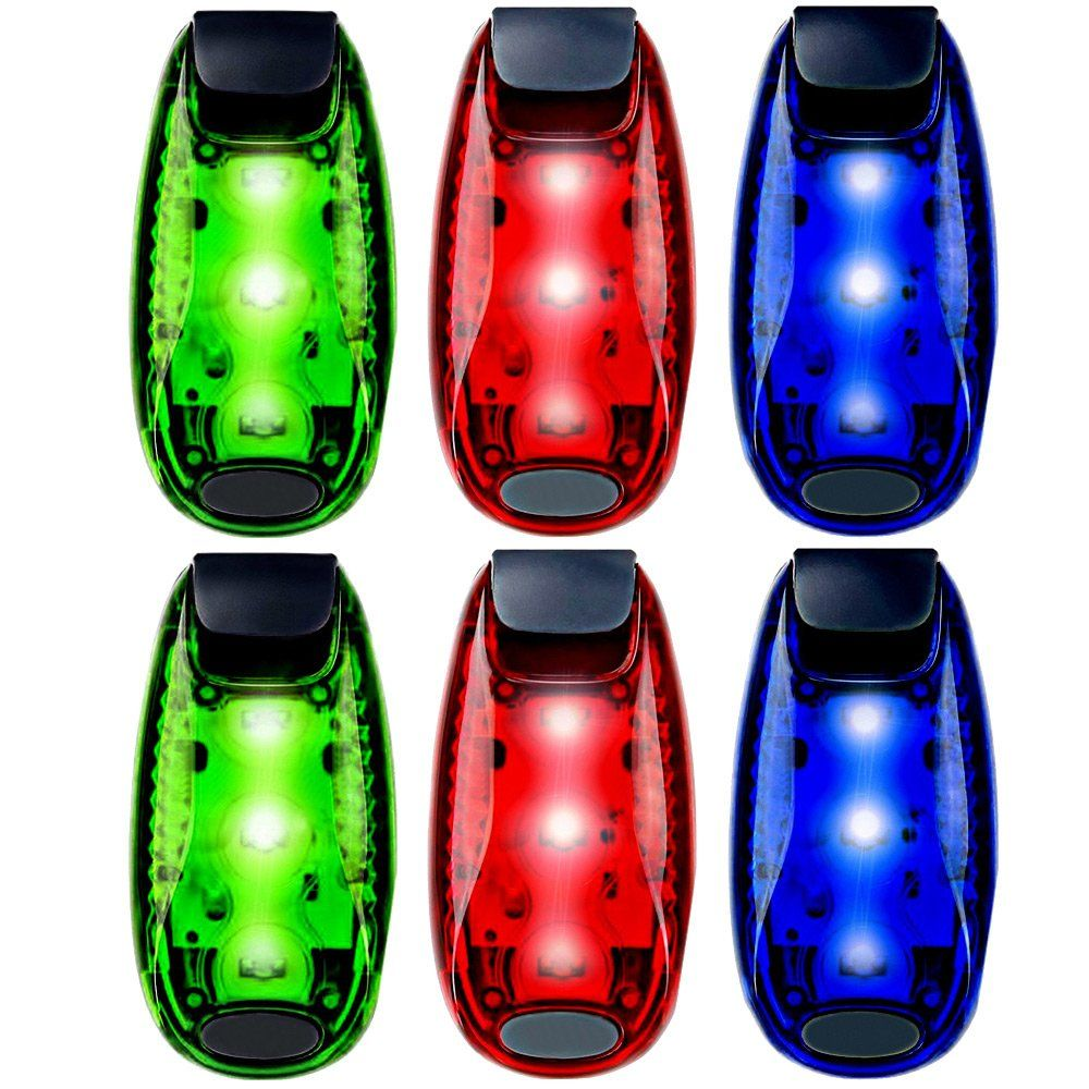 6Pack LED Safety Light Strobe Lights for Daytime Running
