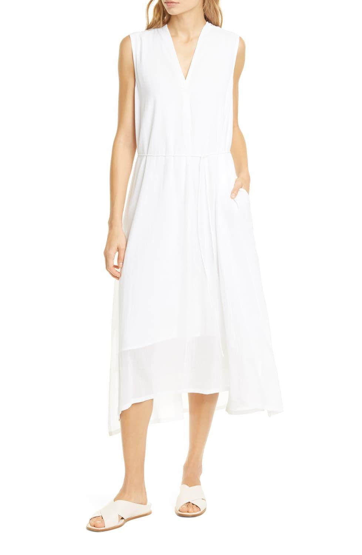 Vince Cotton Voile Midi Dress Nordstrom Flowy Midi Dress Midi Dress Dresses [ 1500 x 978 Pixel ]