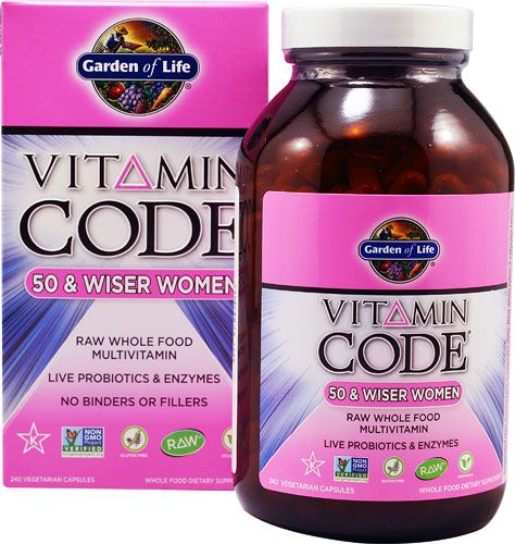 garden of life vitamin code raw 50 and wiser women - Garden Of Life Vitamins