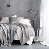 "I thought with the anticipated release of 50 Shades of Grey on Valentine's day, it was very appropriate to talk about bedrooms and the color grey. I'm a huge color lover so it's not often that I show off neutrals. I would usually describe grey as ""blah,"" but these bedrooms decorated in different shades of grey are anything but."