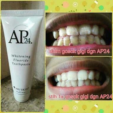 Pasta Gigi Ap24 Memutihkan Gigi Menghilangkan Plak Serta Karang
