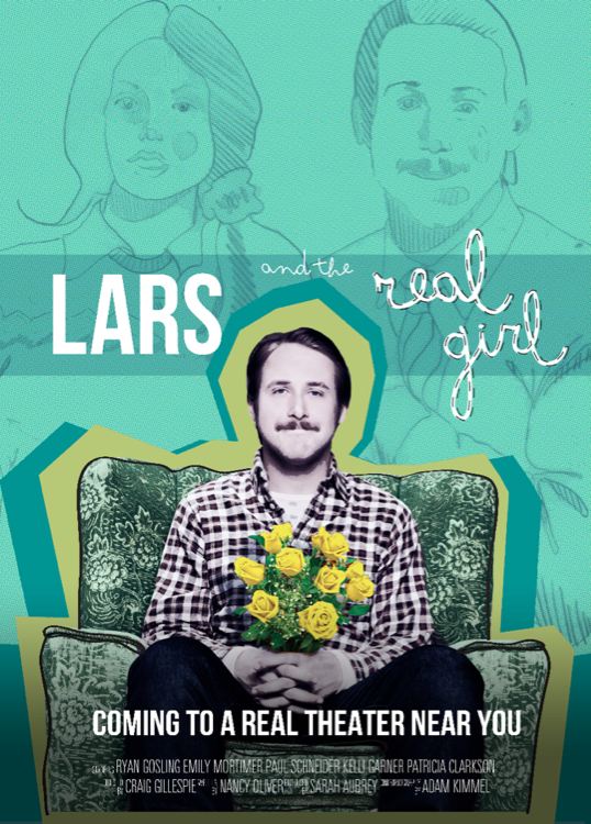 Risultati immagini per lars and the real girl movie poster