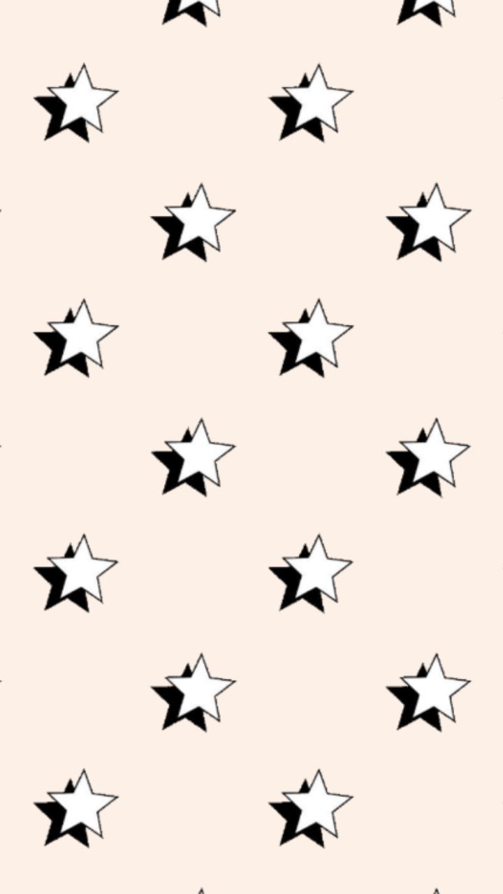 Star Peach Wallpaper Peach Wallpaper Star Background Aesthetic Backgrounds