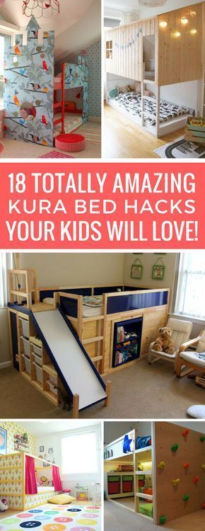 18 Amazing KURA Bed Hacks To Turn A Boring Into Something Special