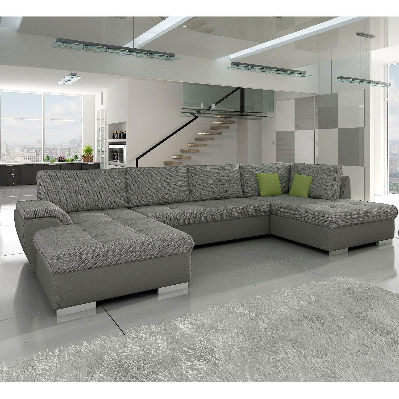Bezaubernd Sofa Ecke Referenz Von Komfortable U-ecke Jason Mit Rechtsstehender Ottomane Produktbild