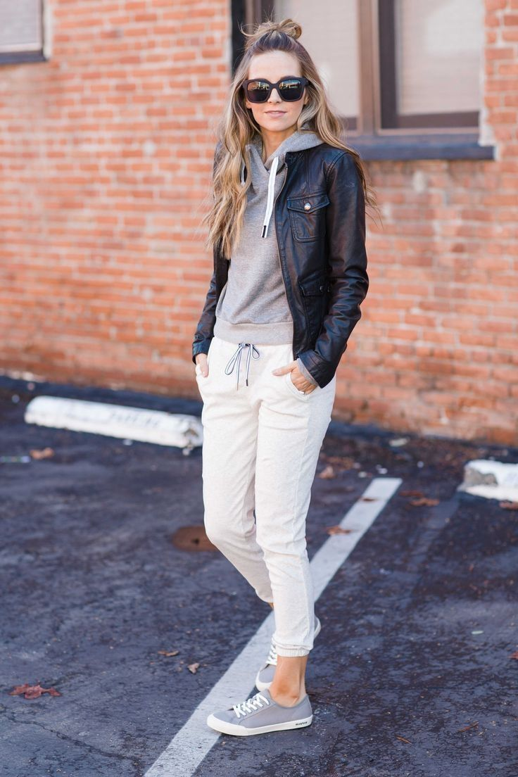 41 Cozy Weekend Outfits with Casual Style this Winter  vattire com is part of Athleisure outfits - Your beautiful professional designer is here to show you some of the most comfortable and cool tips for casual clothes for winter  Match some of your favorite leggings and your favorite lace shoes and you have winter clothes that are very fashionable but still casual  Heels or higher suede shoes are the best choice