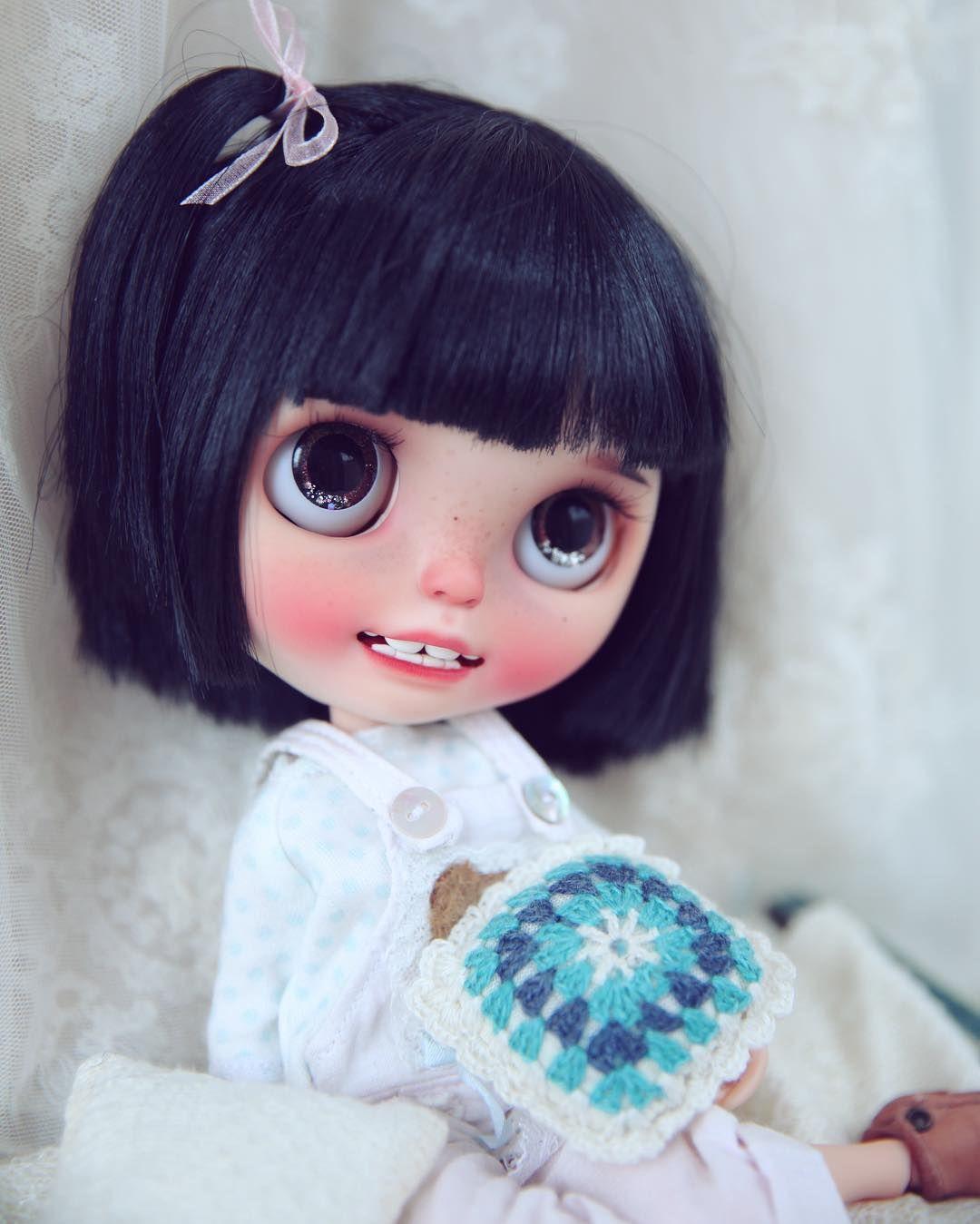 #blythe #dolly #customblythe #wanwan #wanwandoll #teethy#doll