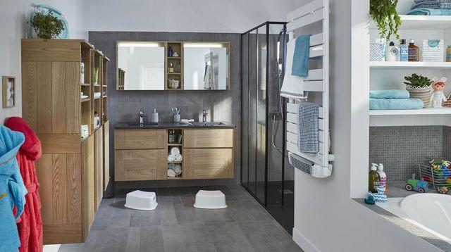 Salle De Bain Familiale Bien Laménager Pour Parents Et Enfants - Amenager sa salle de bain