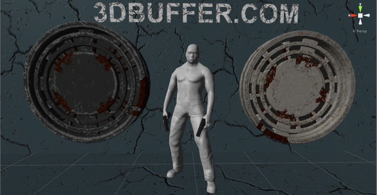 3D character  Character creation in Makehuman for Unity3d with