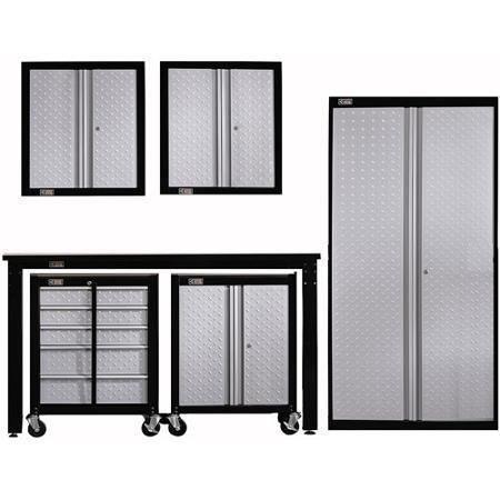 Stack On Cadet Garage Storage System Set Walmart Com Garage Storage Systems Garage Storage Storage System