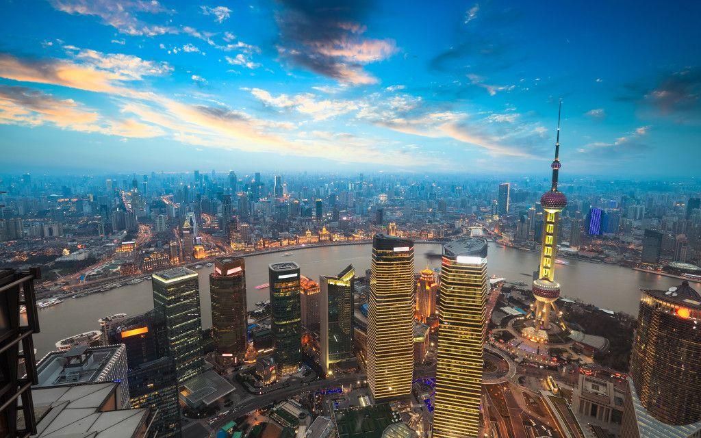 Shanghai Sunset Wallpaper Hd Wallpaprs Naturezoomin Shanghai City Sunset City Sunset Wallpaper