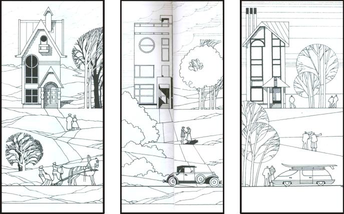 Картинки по запросу архитектурная графика перспектива ...