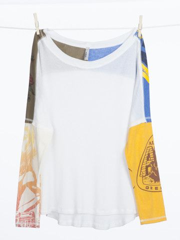 Los Alamos Tee. Mix of old and new. Shop at Akogare.com. #vintage