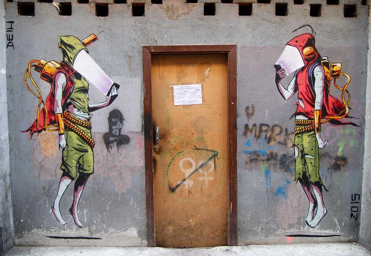 Street Art Goruntuler Ile Sokak Sanati Sanat Sokak