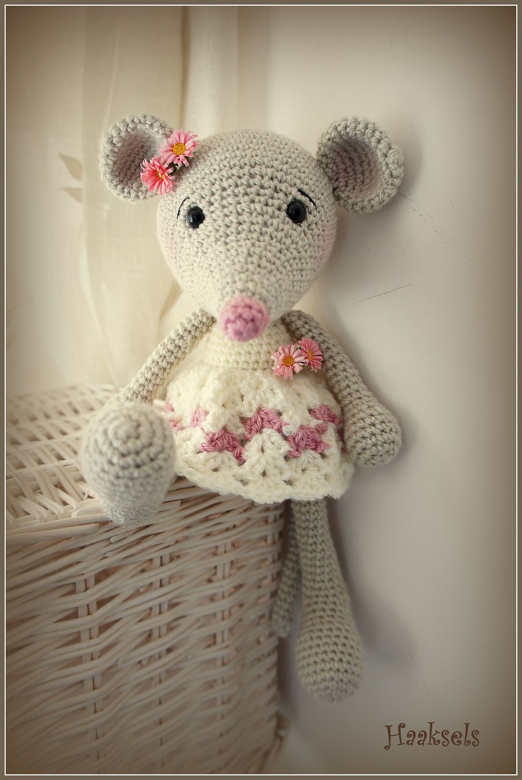 Ravelry: Marion1978\'s Long-Legged Mouse in a Vest | CROCHET MICE ...