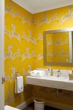 Beautiful Zebra Wallpaper Paste Bathroom   Google Search