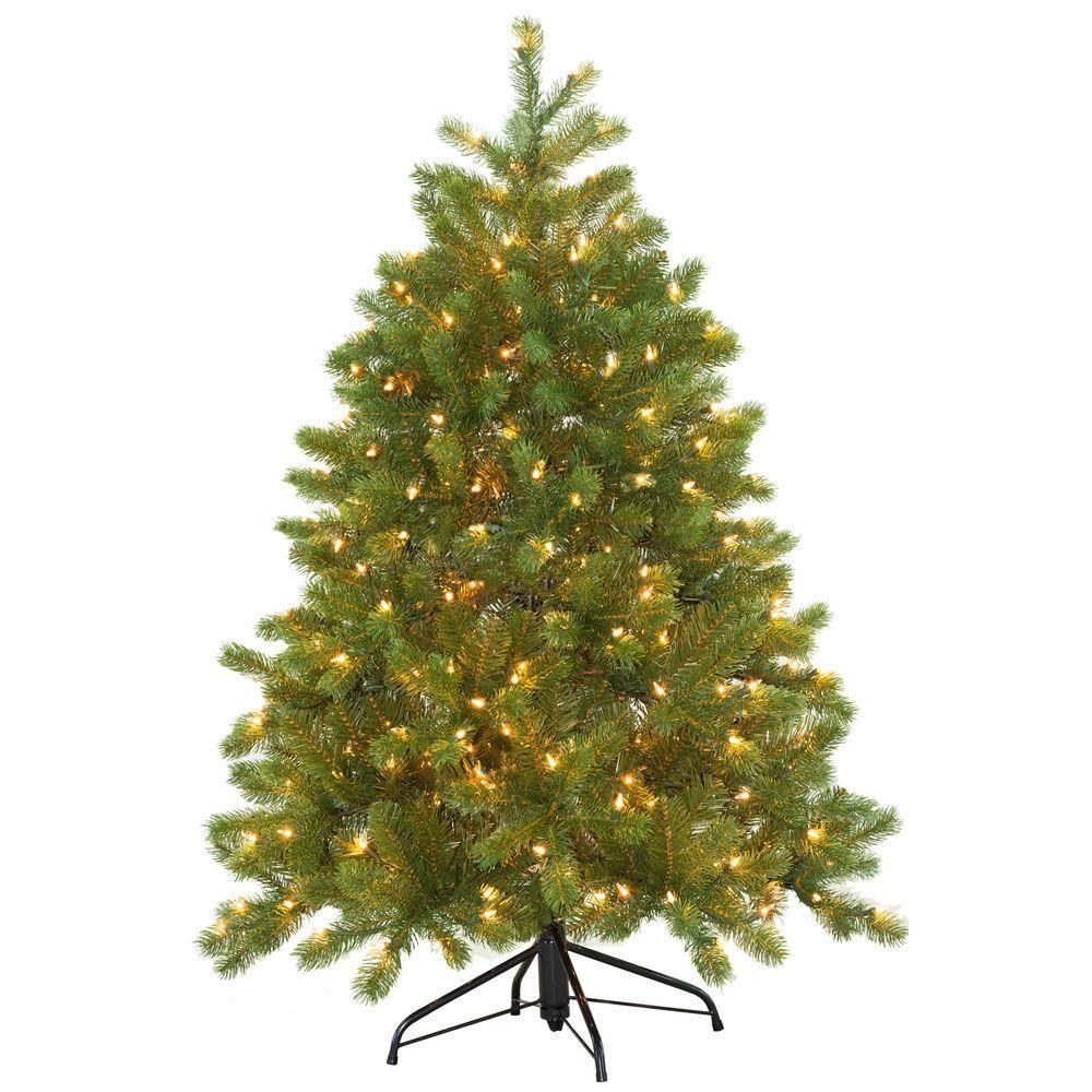 Luckyermore 8 Ft Modern Christmas Tree 460 Tips Full Pet Branches With Golden Glitter Metal Leg Xmas Tree Ornament Xmas Tree Decorations Modern Christmas Tree