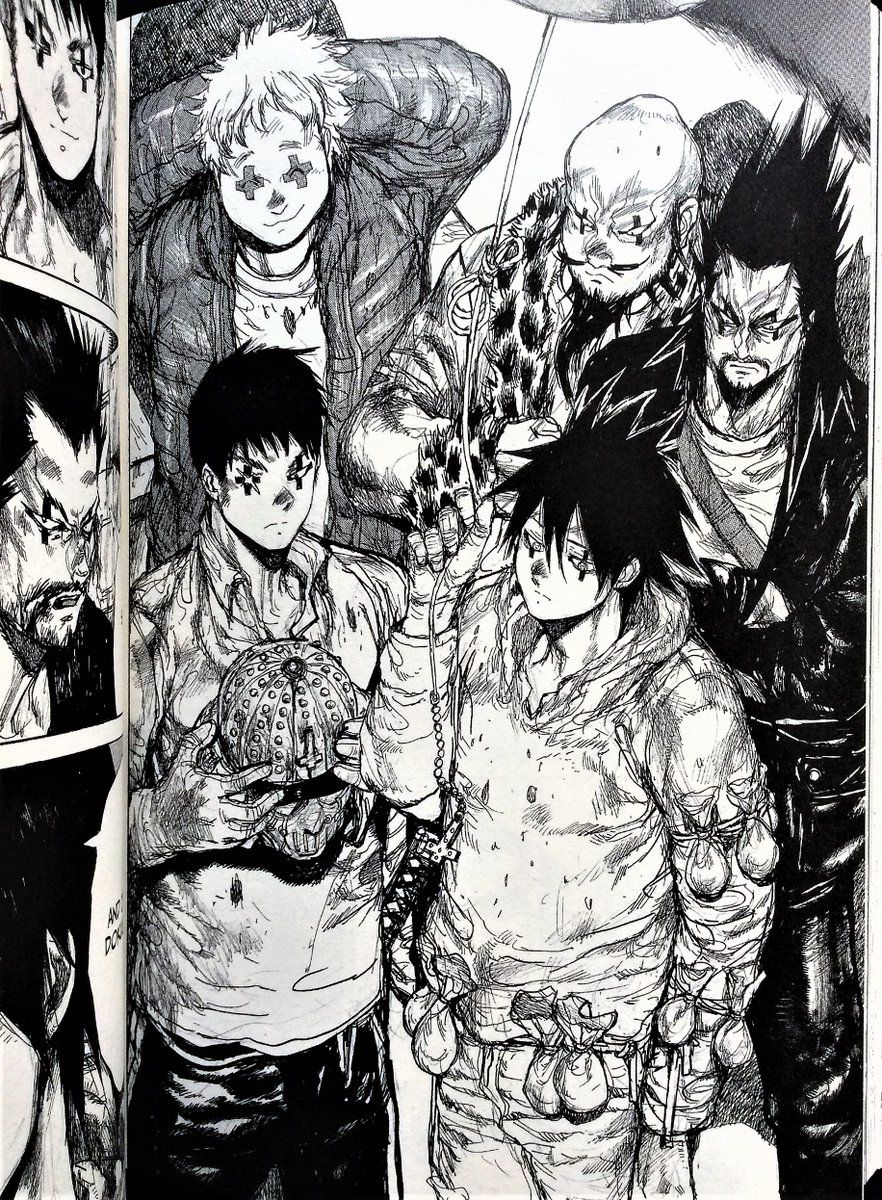 Dokuga and the Cross Eyes Gang (With images) Anime