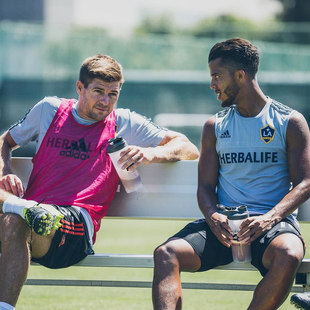 Learning From The Best Stevie G La Galaxy Captain Fantastic