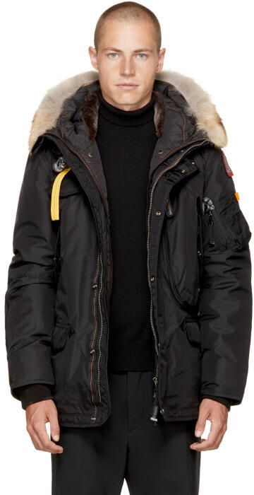 Parajumpers Black Masterpiece Right Hand Jacket