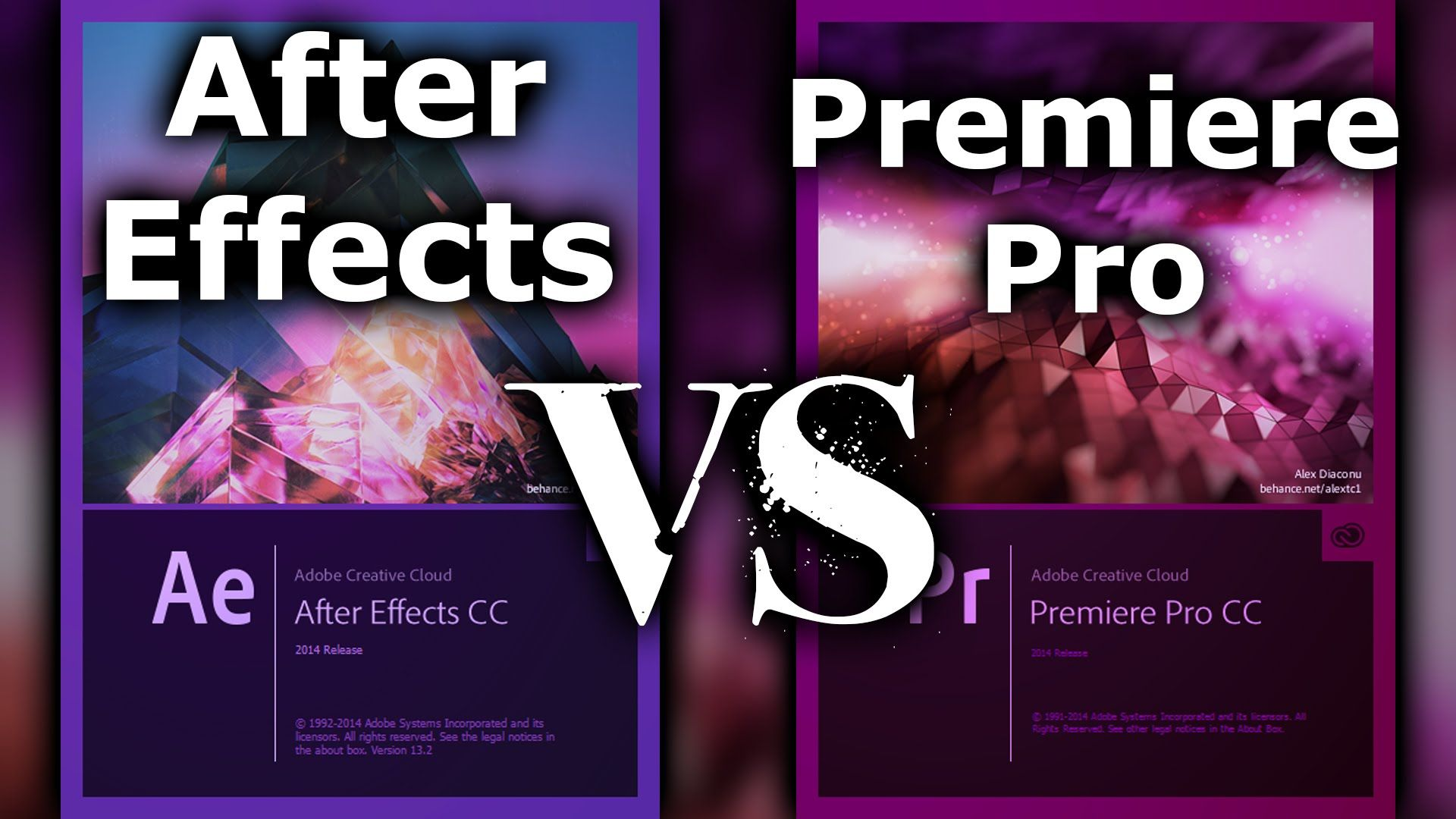 In This Video I Explain The Difference Between Adobe Premiere Pro