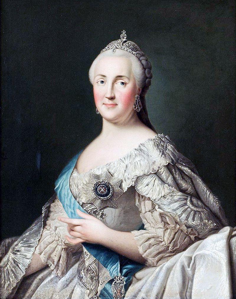 Vigilius Eriksen: Portrait Of Catherine The Great, Date Unknown