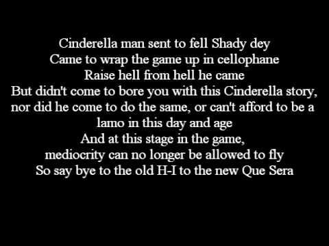 This Is One Of My Favorite Eminem Songsits Off Of His Recovery C Enchanting Cinderella Man Quotes