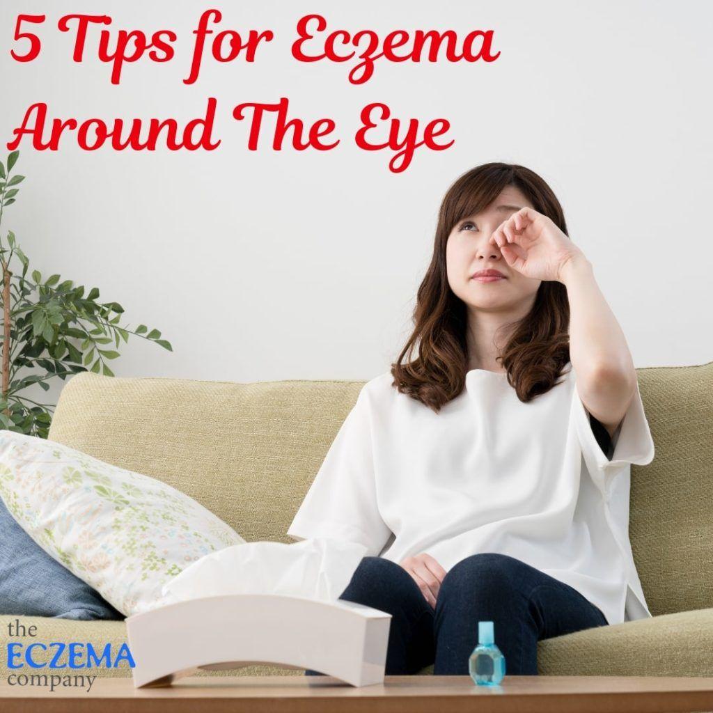 eczema around the eye Eczema Face + Eye + Eyelids