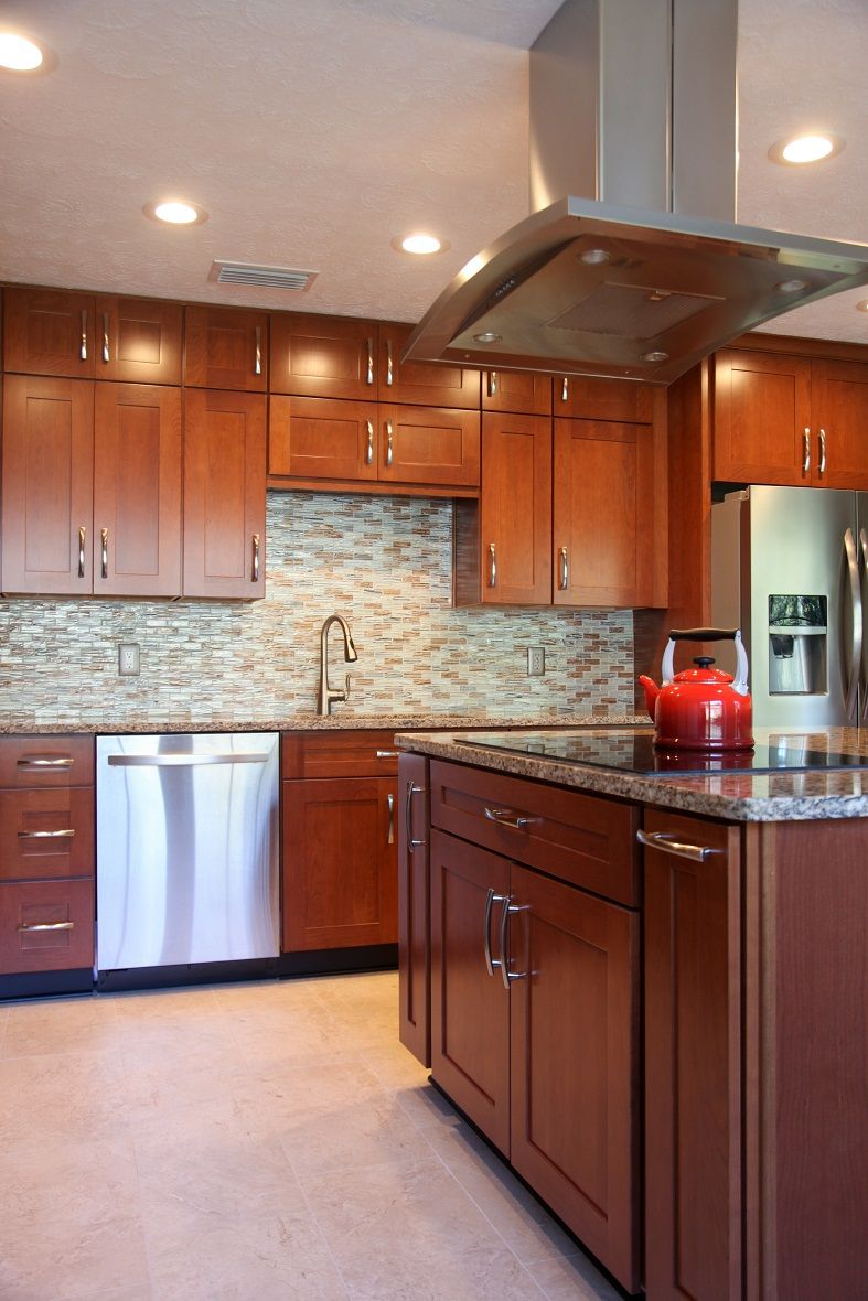Highly Customized Merillat Cabinets Kitchen Inspiration Design Kitchen Design Kitchen Remodel