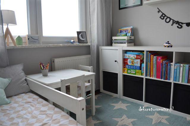 pokój dziecięcy; pokój chłopca, pokój chłopięcy, kids room  Pokój Wojtka  Pinterest  Pokój ...