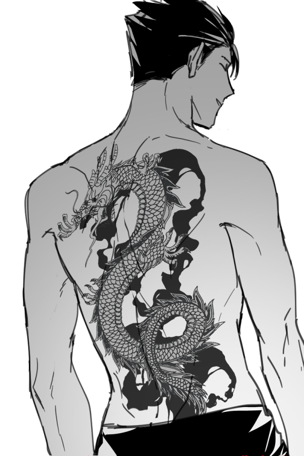 Anime Characters With Tattoos : anime, characters, tattoos, Twitter, Yakuza, Anime,, Anime, Tattoos,, Tattoo