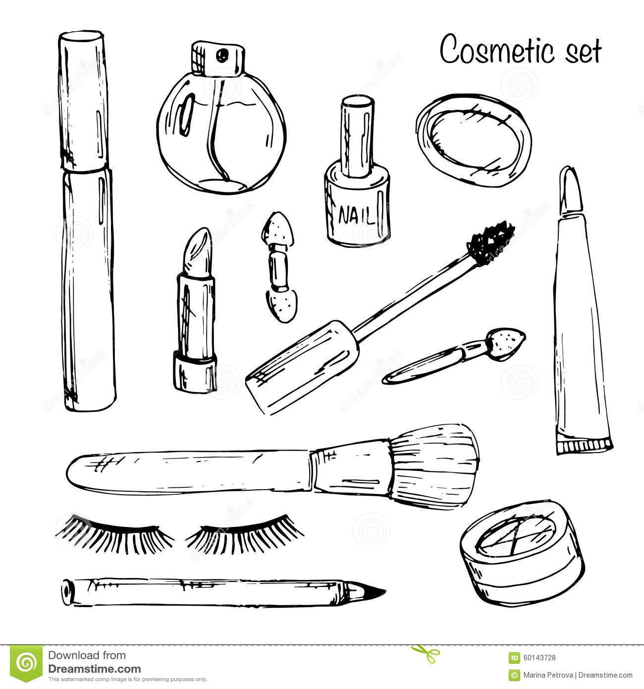 Pin By Kristina Reynolds Haney On Templates Coloring Pages Free Makeup Coloring Pages To Print